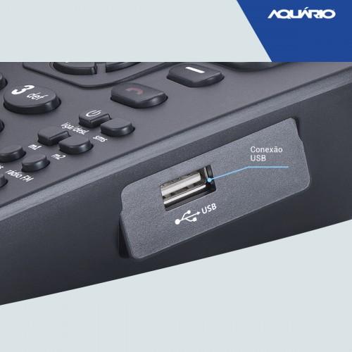 Telefone Celular Rural Fixo  Ca42s 3g 2 Chip Aquário