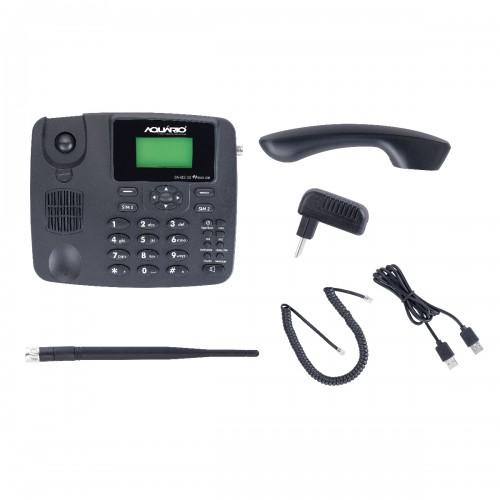 Telefone Celular Fixo Mesa 2chip Ca-42s  Desbloqueado Aquário