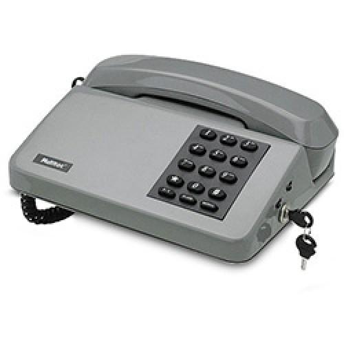 Telefone Padrão 6 Pcs c/ chave  Multitoc Cinza