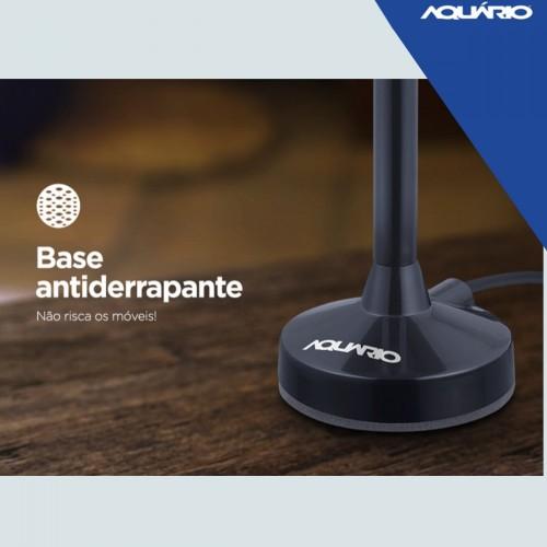 Antena Digital 5 Em 1 Vhf Uhf Fm Hdtv 4k  Dtv100p Aquário