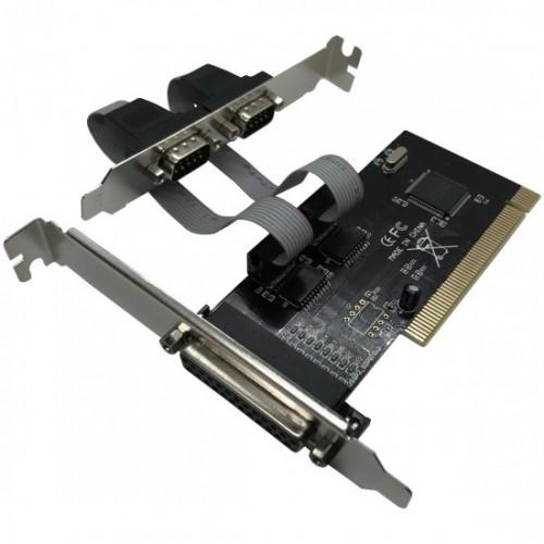 Placa Pci-e Jpp-02 C/2 Serial E Perfil Baixo Feasso
