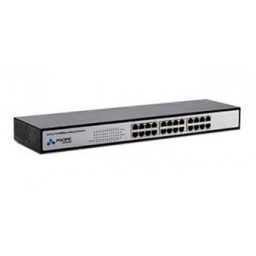 Kit C/3 Switch 24 Portas 10/100mbps Pacific Network Pn-s016