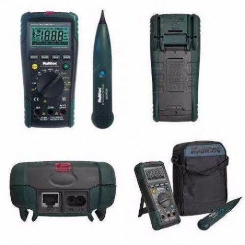 Multimetro E Testador De Cabo Multifuncional Tx3000 Multitoc