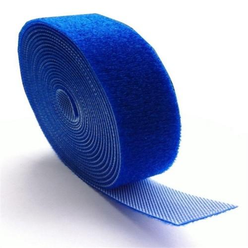 Organizador De Cabos 3mtsx20mm Azul