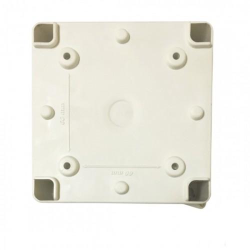 Caixa De Passagem Sobrepor Elétrica 10x10x7 Cm Opaca Branca