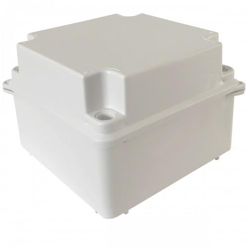 Caixa De Passagem Sobrepor Elétrica Tp 10x10x7 Cm Branca
