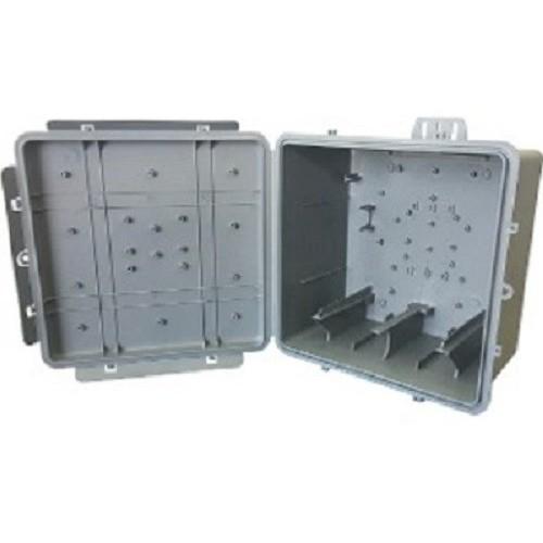Caixa Hermética Plus Multiuso 250x250x150mm Preto Multitoc
