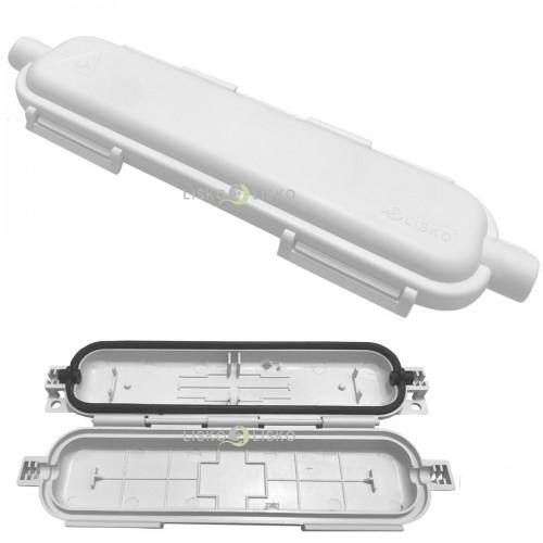 Caixa Proteção P/ Emenda Fibra Óptica Hermética Drop CPHFO Br  Multitoc