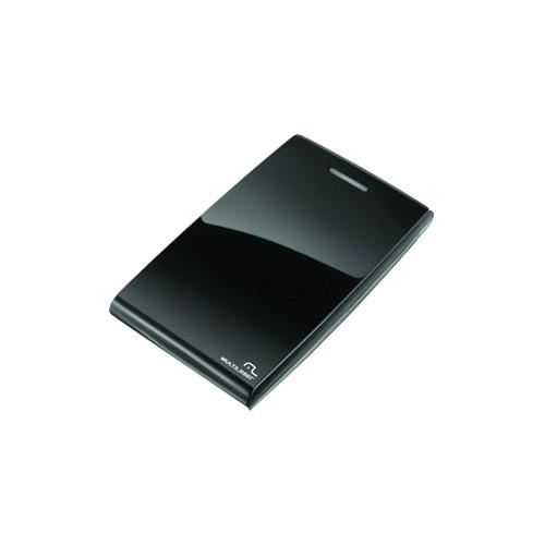 Case Externo Hd 2.5' Sata Black Piano Multilaser Ga077