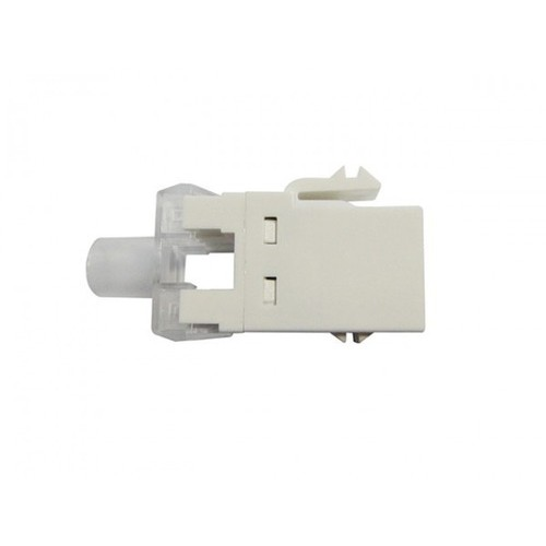 Kit C/40 Conector Fêmea Rj45 Keystone Cat6 Branco
