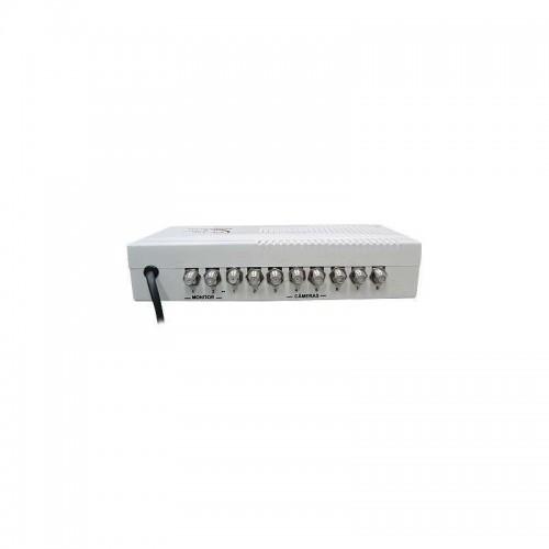 Sequencial De Câmeras Para Cftv Multitoc 8x2