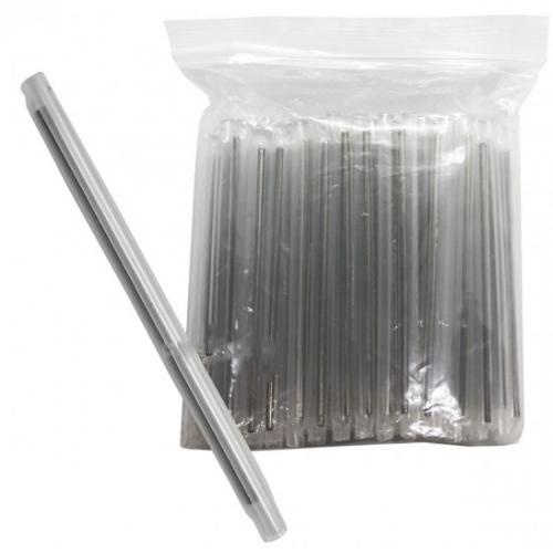 Tubete Protetor de Emenda Fibra Óptica 60mm Transparente - 100 Unidades