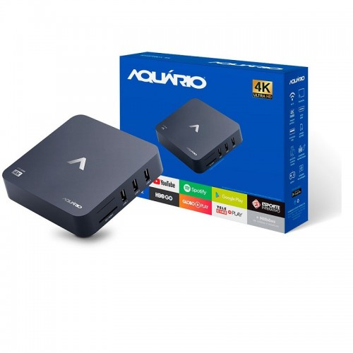 Tv Box Smart 4k Android  Aquario