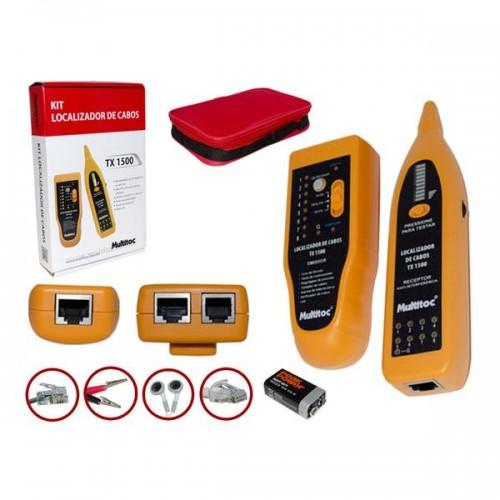 Kit Localizador  e Testador de cabos TX1500